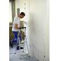 KRAUSE Stufen-Stehleiter »MONTO Solidy«, 3 Sprossen, Aluminium-Thumbnail