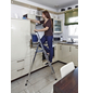KRAUSE Stufen-Stehleiter »MONTO Solidy«, 4 Sprossen, Aluminium-Thumbnail