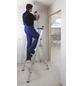 KRAUSE Stufen-Stehleiter »STABILO«, 4 Sprossen, Aluminium-Thumbnail