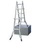 KRAUSE Teleskopleiter »STABILO«, 16 Sprossen, Aluminium-Thumbnail