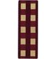 ANDIAMO Teppich »Dijon«, BxL: 67 x 200 cm, rot-Thumbnail