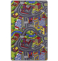 ANDIAMO Teppich »Strasse«, BxL: 165 x 100 cm, bunt-Thumbnail