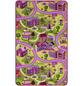 ANDIAMO Teppich »Sweet Village«, BxL: 100 x 165 cm, bunt-Thumbnail