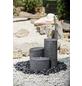 HEISSNER Terrassenbrunnen »Chicago«, Höhe: 40 cm, grau, inkl. Pumpe-Thumbnail