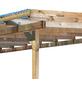 KARIBU Terrassenüberdachung »Eco Modell KDI 1«, Breite: 387 cm, Dach: Polyvinylchlorid (PVC), braun-Thumbnail