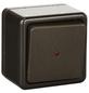 KOPP Universalschalter, Aus-/Wechselschalter, STANDARD, Kunststoff, Braun-Thumbnail