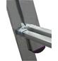 KRAUSE Vielzweckleiter »CORDA«, 30 Sprossen, Aluminium-Thumbnail