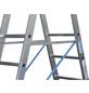 KRAUSE Vielzweckleiter »STABILO«, 30 Sprossen, Aluminium-Thumbnail