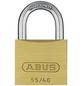 ABUS Vorhangschloss Messing, LxBxH: 13 x 40 x 60 mm, Messing, Messing-Thumbnail