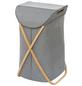 WENKO Wäschesammler »Bahari«, BxHxL: 40 x 68 x 46 cm, Polyester/Baumwolle/Bambus-Thumbnail