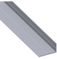 alfer® aluminium Winkelprofil combitech® Alu silber 1000 x 27,5 x 15,5 x 1,5 mm-Thumbnail