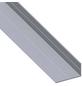 alfer® aluminium Winkelprofil combitech® Alu silber 1000 x 43,5 x 23,5 x 1,5 mm-Thumbnail