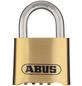 ABUS Zahlenschloss, LxBxH: 25 x 50 x 75 mm, Messing, Messing-Thumbnail