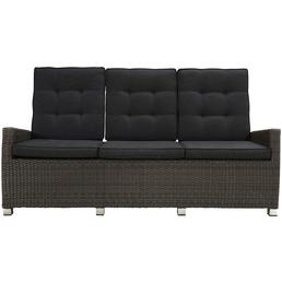 ploß® 3er-Loungesofa »Jardel Comfort«, Breite 210 cm, inklusive Auflagen