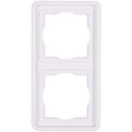 KOPP Abdeckrahmen, Serie STANDARD, Weiß, Kunststoff