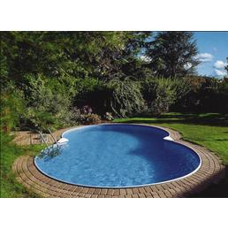 SUMMER FUN Achtformpool, weiß, BxHxL: 420 x 150 x 650 cm