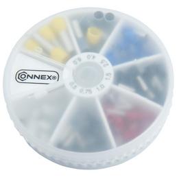 CONNEX Aderendhülsen, Kunststoff/Kupfer