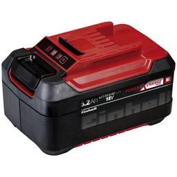 EINHELL Akku, Power X-Change Plus, 5,2 Ah, 18 V, Lithium-Ionen, Rot | Schwarz