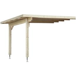 MR. GARDENER Anbau für Blockbohlenhaus »Schönheim 1 und 2«,, Holz