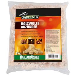 MR. GARDENER Anzünder, Holzwolle, Inhalt 1 kg