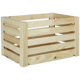 ZELLER Aufbewahrungsbox, BxLxH: 30 x 40  x 24 cm, Kiefernholz