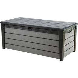 KETER Auflagenbox »Brushwood«, BxHxT: 145 x 60,3 x 69,7 cm, grau/anthrazit