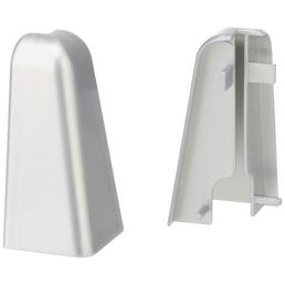 FN NEUHOFER HOLZ Außenecke »FU060L«, (2 Stk.) aus Kunststoff, für Sockelleisten