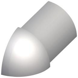 alfer® aluminium Außenecke, Viertelkreis, Silber, Fliesenmaß 10 mm