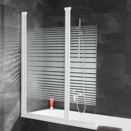 SCHULTE Badewannentrennwand »Komfort«, BxH: 114 x 140 cm, Einscheiben-Sicherheitsglas (ESG)