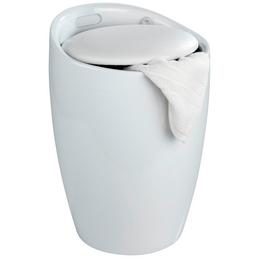 WENKO Badhocker »Candy«, Höhe: 50,5 cm, weiß
