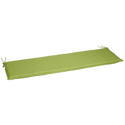 CASAYA Bankauflage, hellgrün, Uni, BxL: 45 x 150 cm