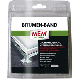 MEM Bitumenband, MEM Dichten, aluminiumfarben, 1 m x 7,5 cm