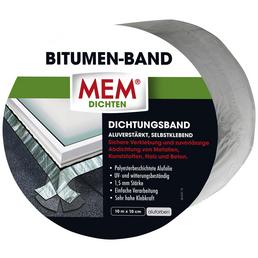 MEM Bitumenband, MEM Dichten, aluminiumfarben, 10 m x 10 cm