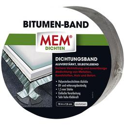 MEM Bitumenband, MEM Dichten, Silber, 10 m x 7,5 cm
