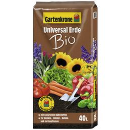 Blumenerde »Bio«, für Gemüse-, Zimmer-, Balkon- und Gartenpflanzen