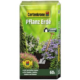 Blumenerde »Gartenkrone«, für Stauden, Gehölze, Gemüse und Blumen