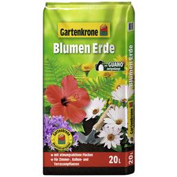 Blumenerde »Gartenkrone«, für Zimmer-, Balkon- und Kübelpflanzen