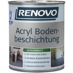 RENOVO Bodenbeschichtung, 0,75 l, Oxidrot, Seidenmatt