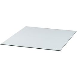 TIS Bodenplatte zum Funkenschutz, Sicherheitsglas, BxL: 85 x 100 cm
