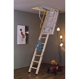 MINKA Bodentreppe »Polar 60«, max. Raumhöhe 280 cm, Fichtenholz, U-Wert 0,64 W/(m²K)