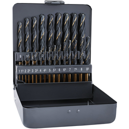 ALPEN Bohrer-Kassette, Sprint Master, DIN338RN HSS Bohrer ø1.0-13.0mm 25-tlg.