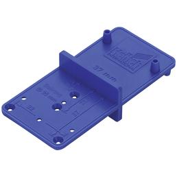 HETTICH Bohrlehre, Blau, Montagehilfe, 26 mm oder 35 mm Durchmesser