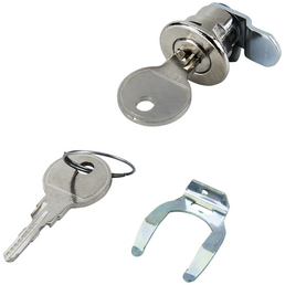ME-FA Briefkastenschloss, Stahl, inkl. 2 Schlüssel