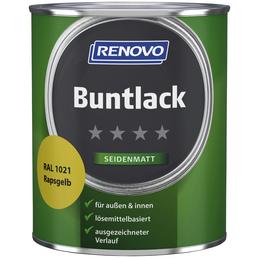 RENOVO Buntlack, rapsgelb, seidenmatt
