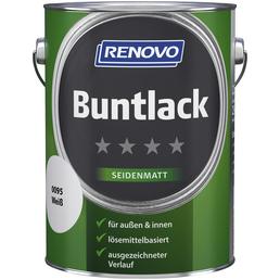 RENOVO Buntlack, weiß , seidenmatt