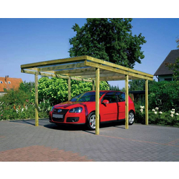 Carport »Aktion«, Außenmaß BxT: 304 x 510 cm, grün