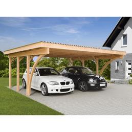 MR. GARDENER Carport »Stuttgart 1«, Außenmaß BxT: 604 x 510 cm