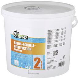MR. GARDENER Chlor-Schnelldesinfektion, 5 kg Chlor - Schnelldesinfektion , für Pools