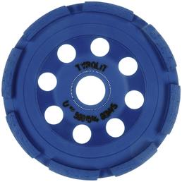 TYROLIT Diamantschleifteller, Blau, 18 mm Stärke, 100 mm Durchmesser, blau