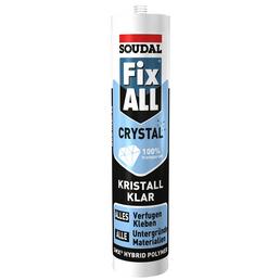 SOUDAL Dichtstoff, Fix ALL Crystal, Transparent, 290 ml